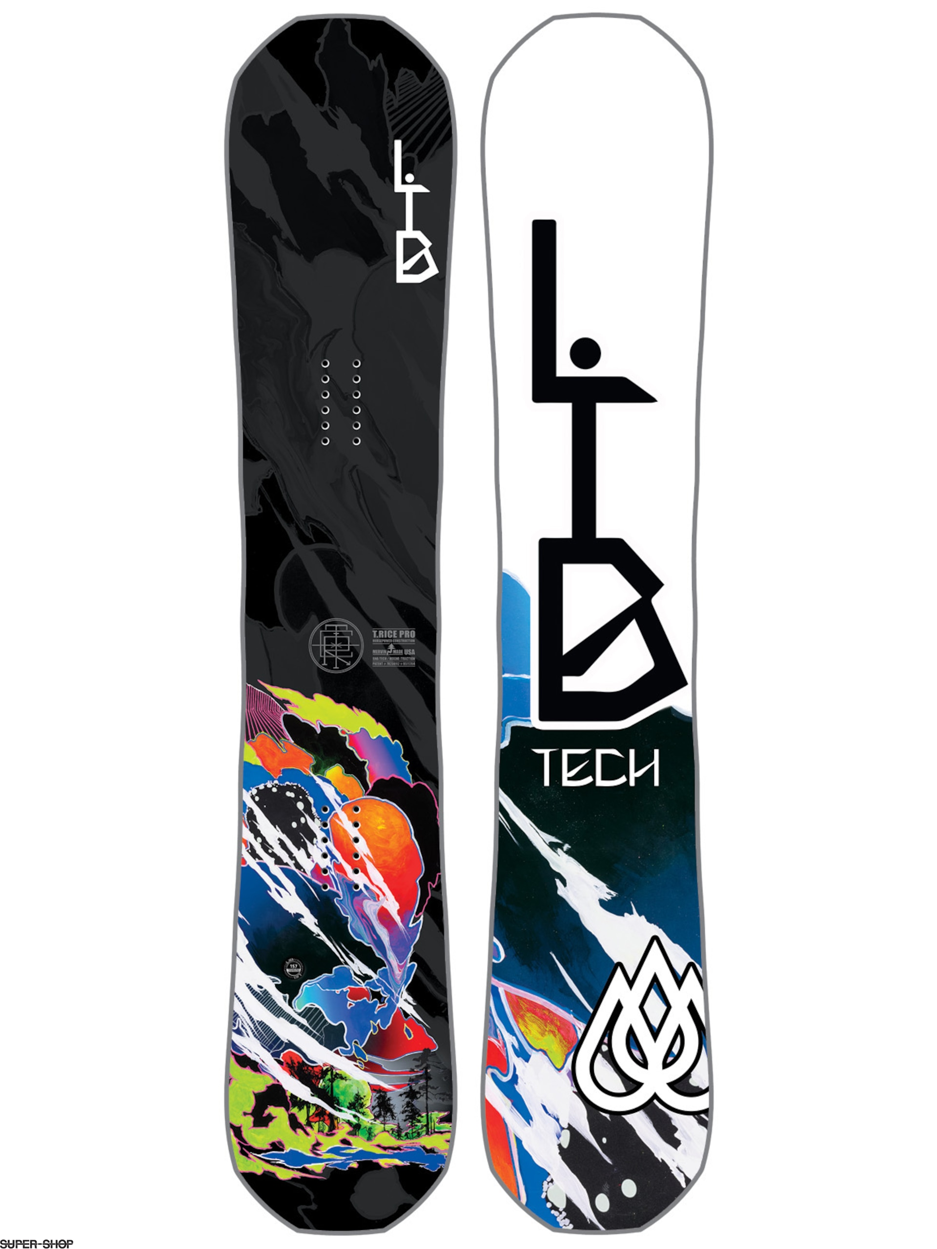 Lib Tech Snowboard T Rice Hp C2 Blunt (multi)