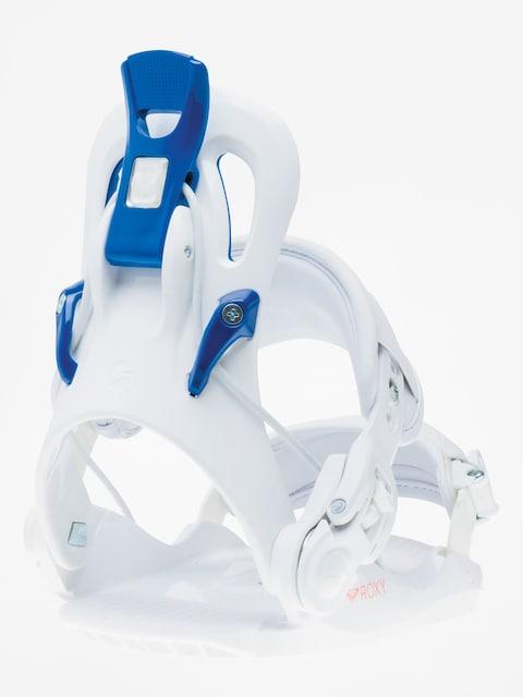 Roxy Snowboard bindings Ready (white)