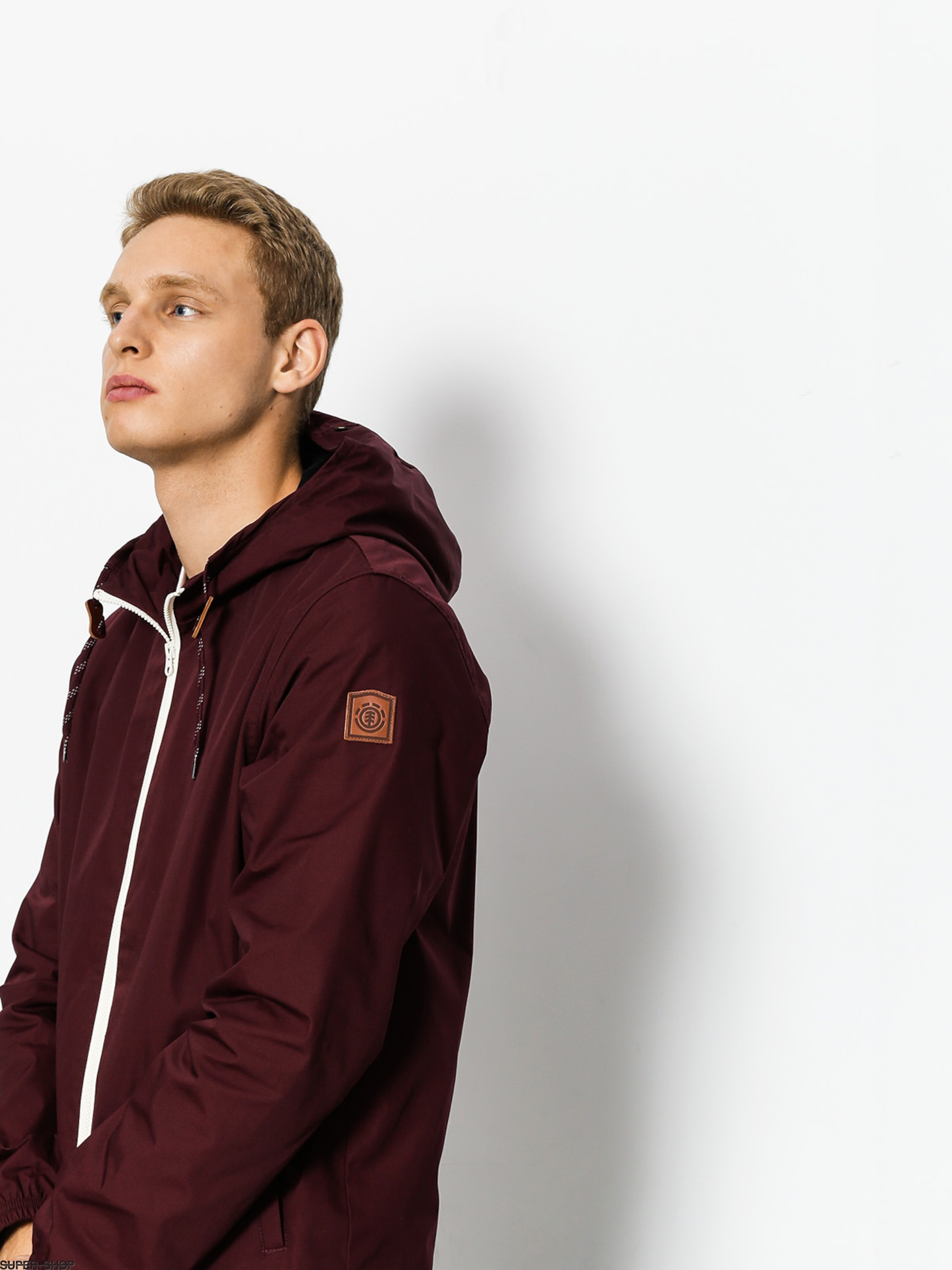 Element Jacke Alder (napa red)