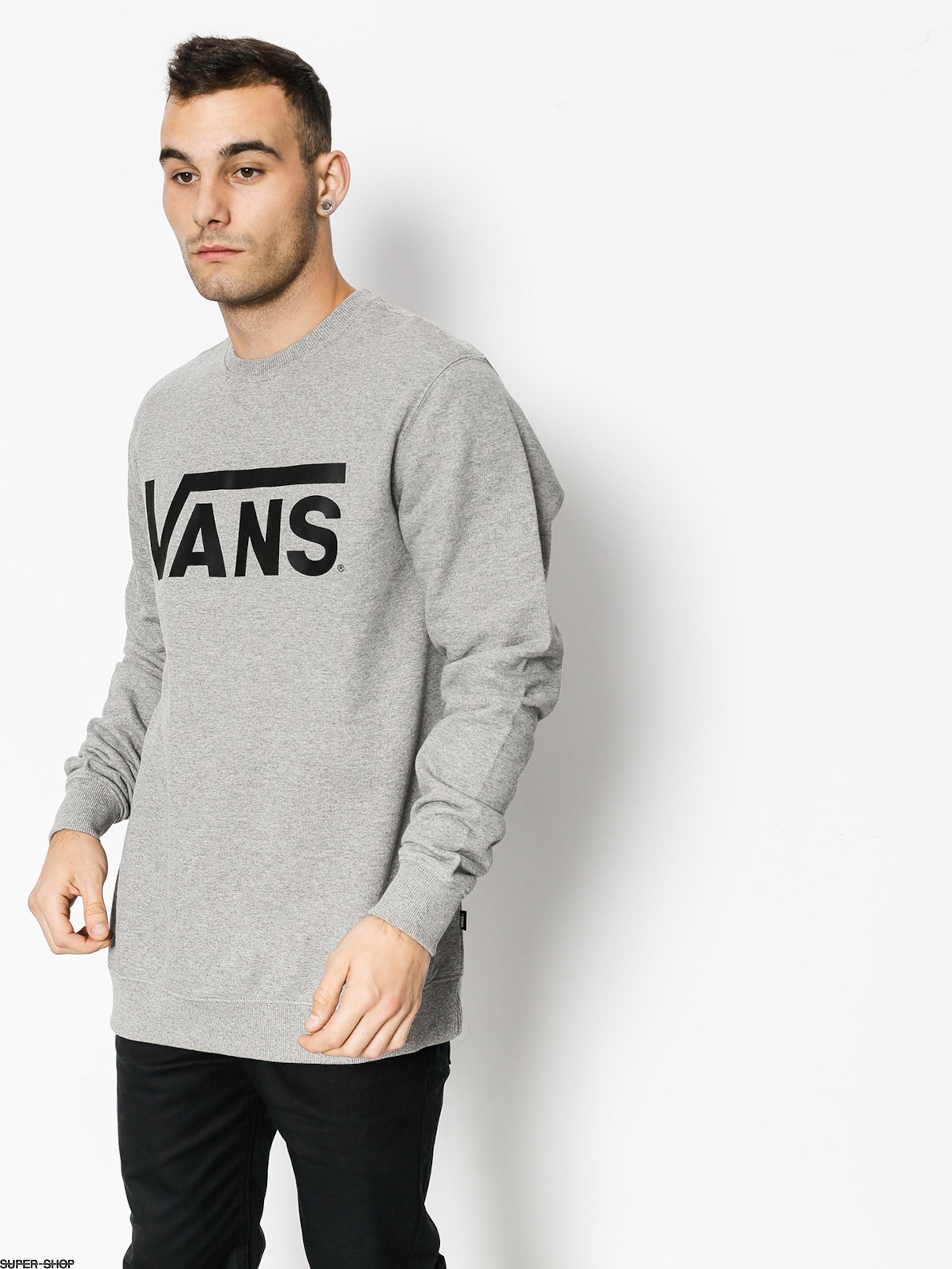 448157cedac3 Vans Sweatshirt Classic Crew (concrete heather black)