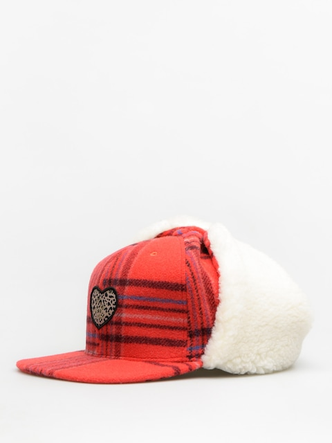 Femi Stories Beanie Guam Wmn (pld red)