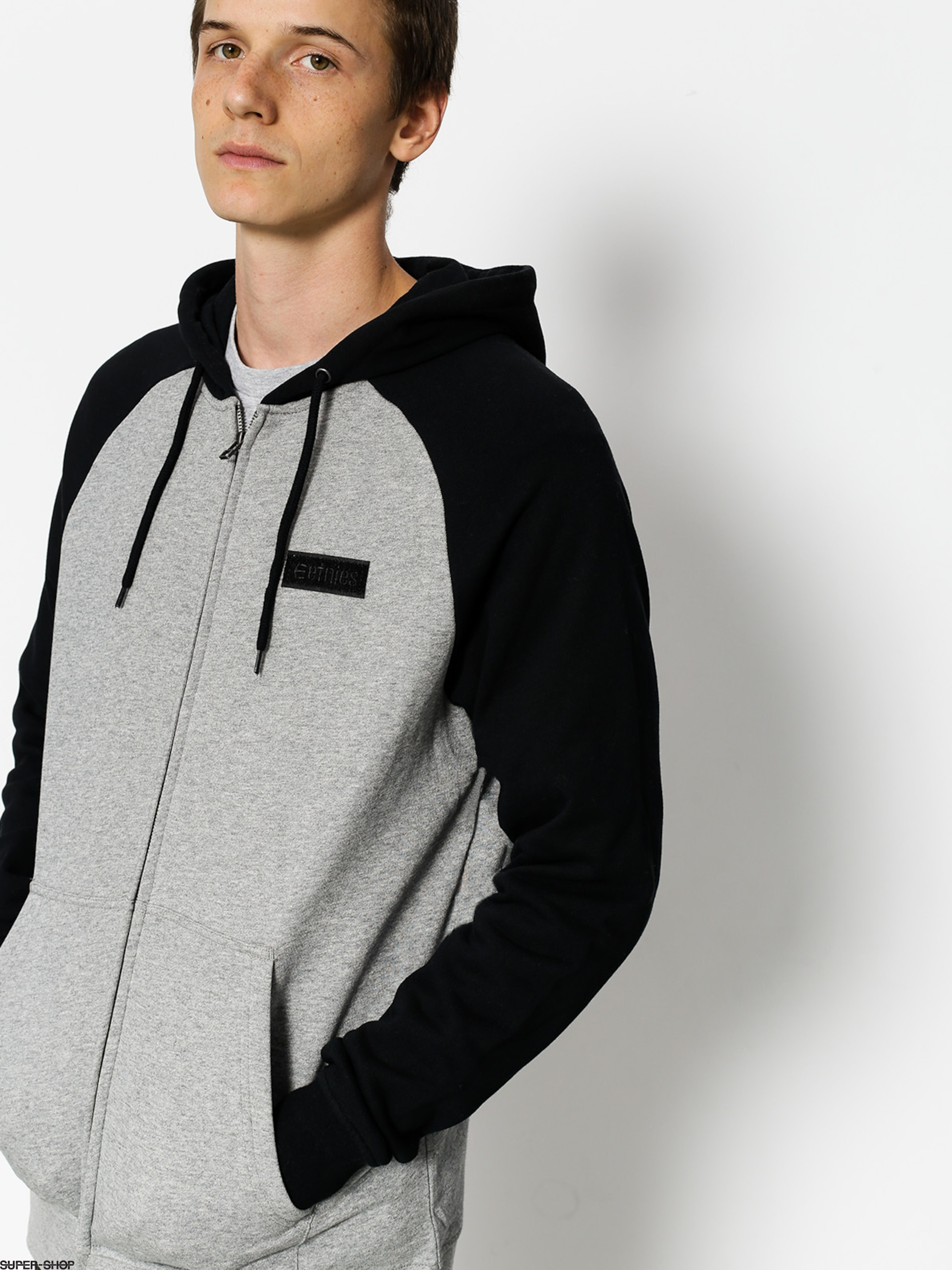 Etnies Sweatshirt Core Icon Zip (black/grey)