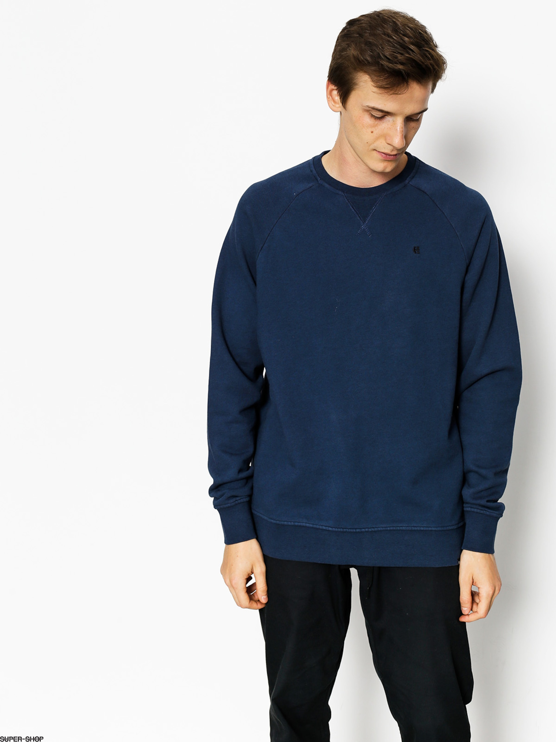 Etnies Sweatshirt Blasted Crew (dark navy)