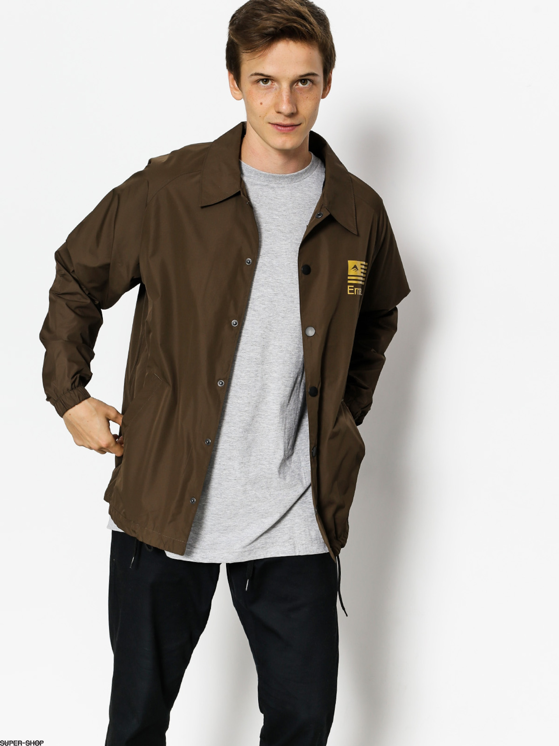 Emerica Jacke Darkness (dark brown)