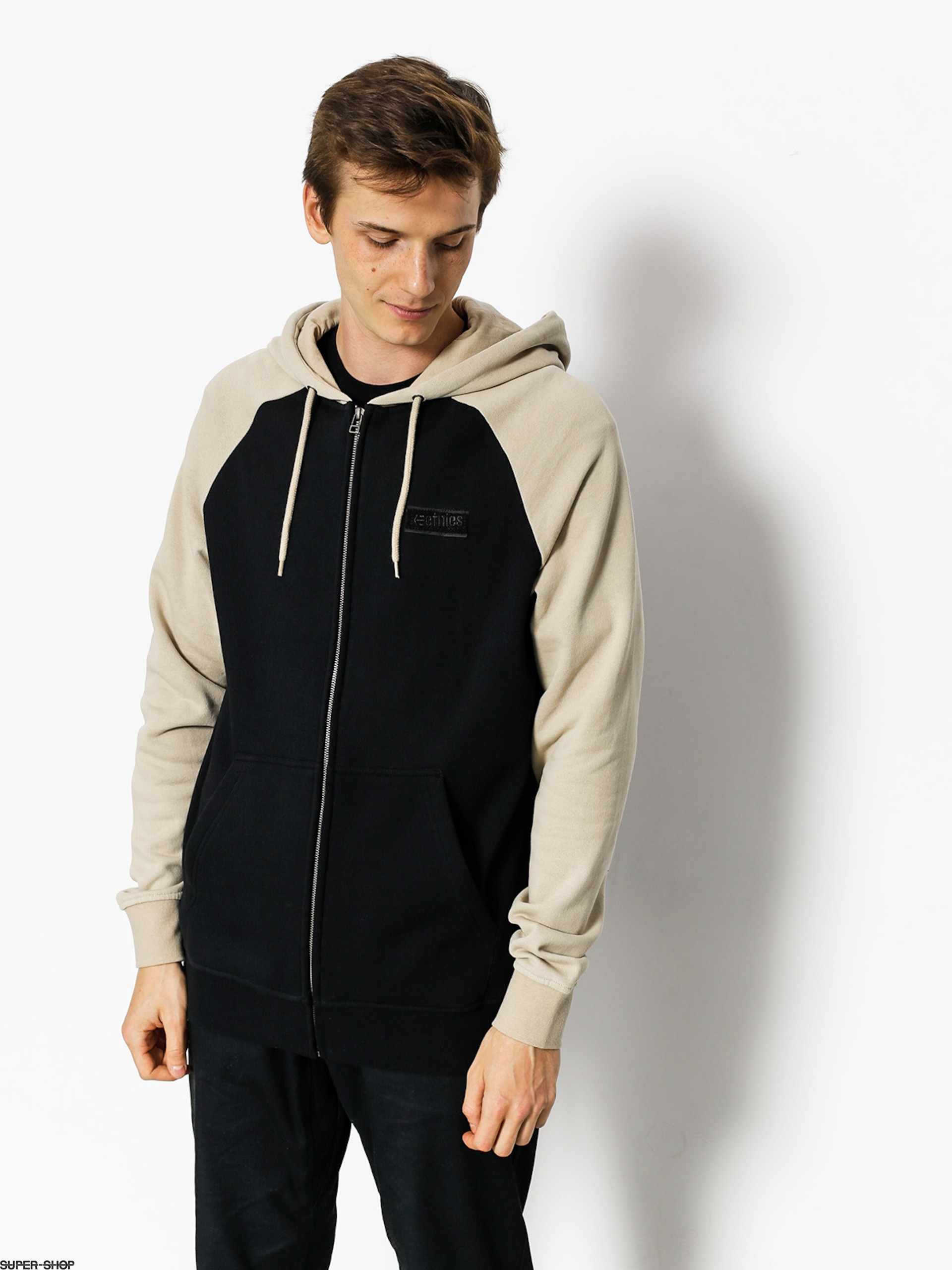 Etnies Sweatshirt Core Icon Zip (natural)