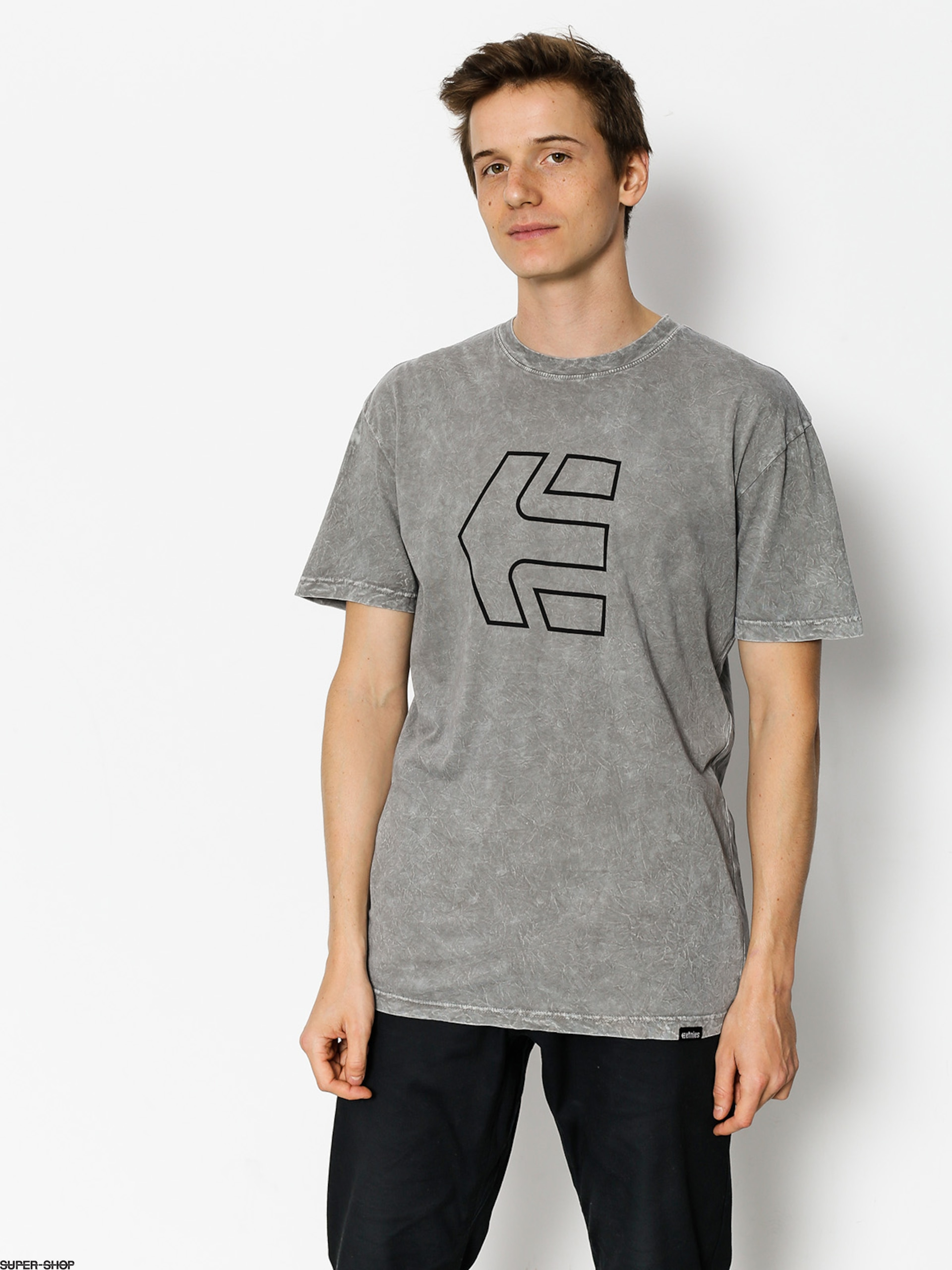 Etnies T-shirt Icon Outline (grey)