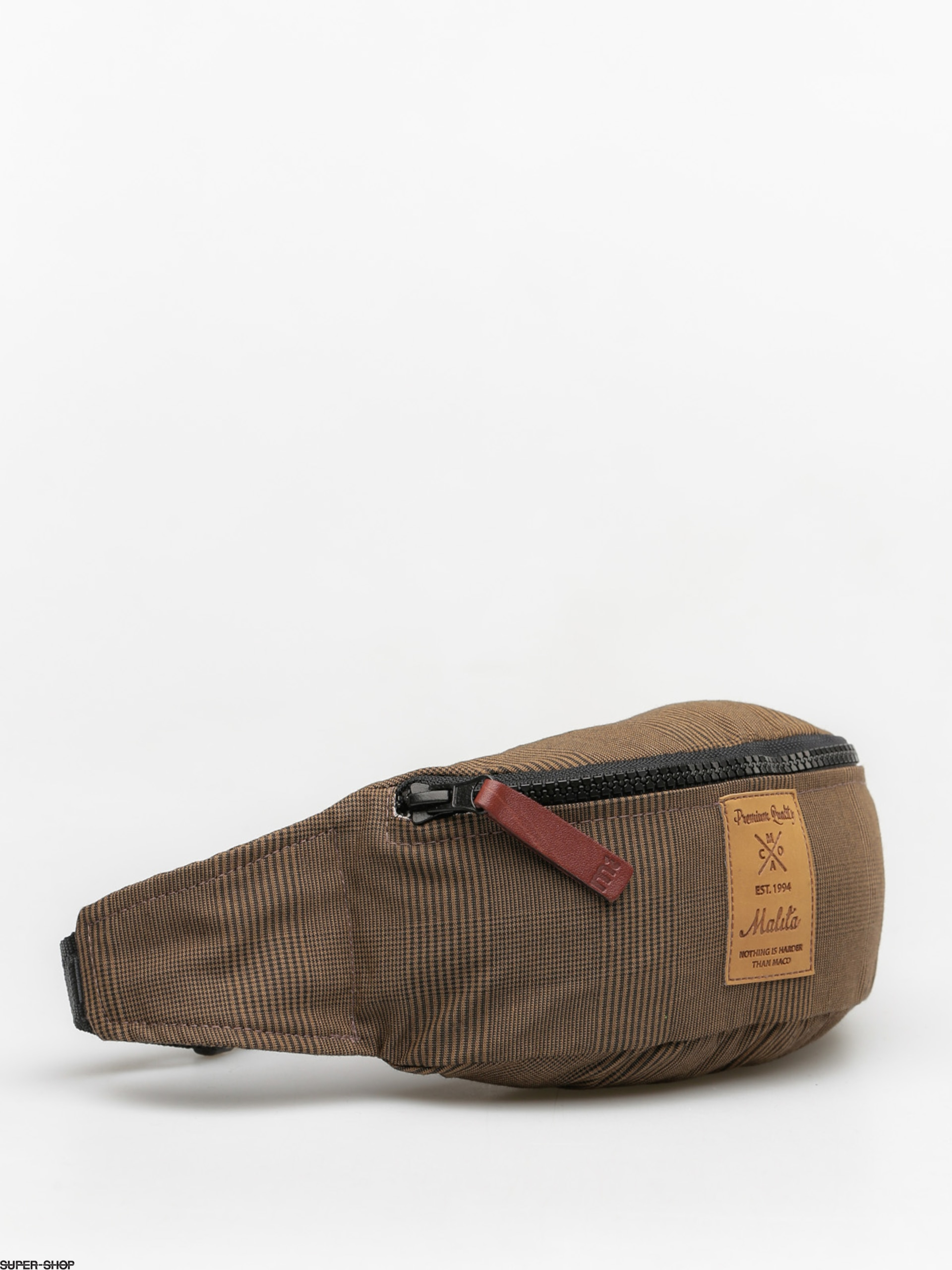 Malita Gürteltasche Checked (brown/brown label)