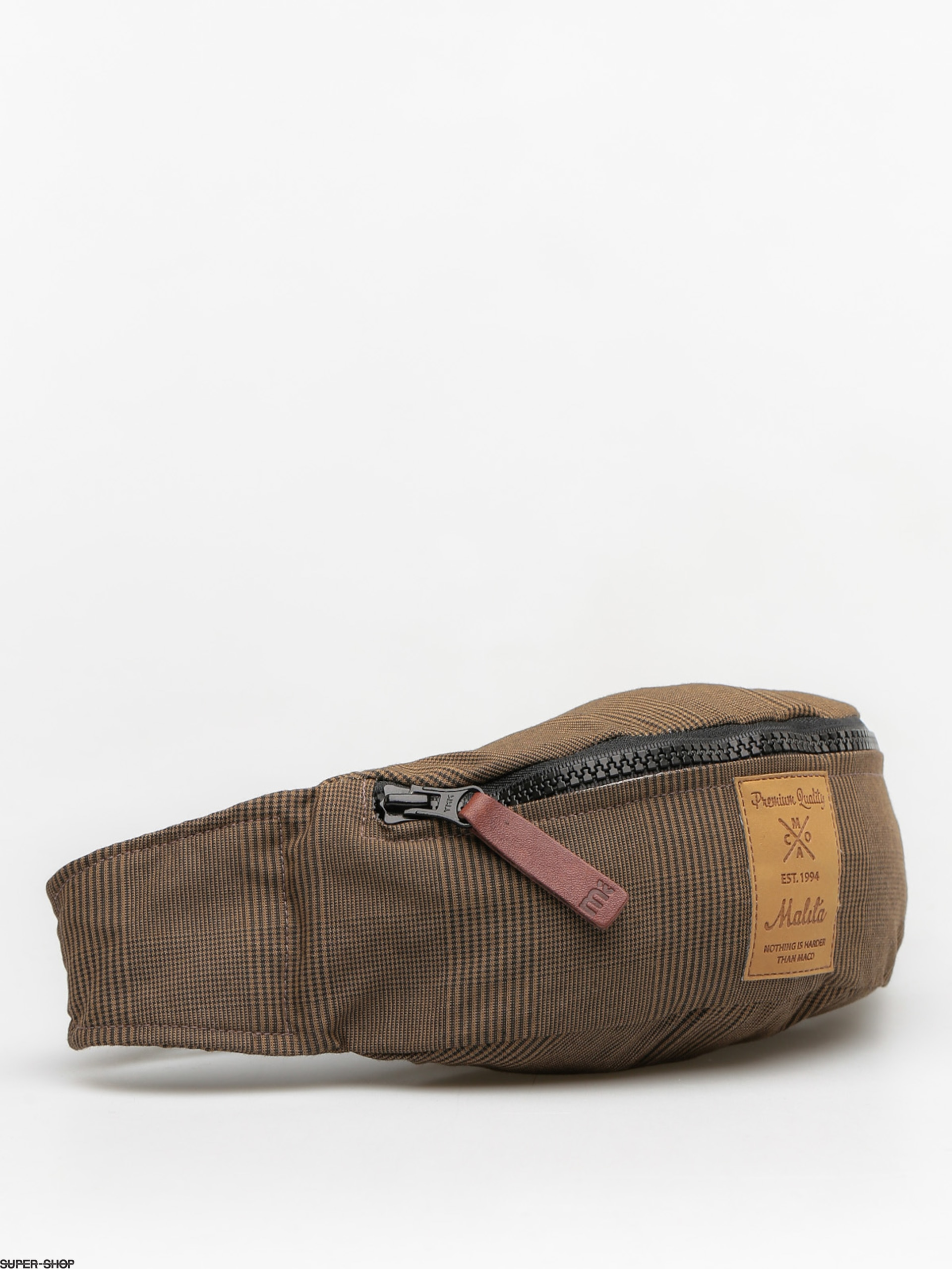 Malita Bum bag Checked (brown/brown label 2)