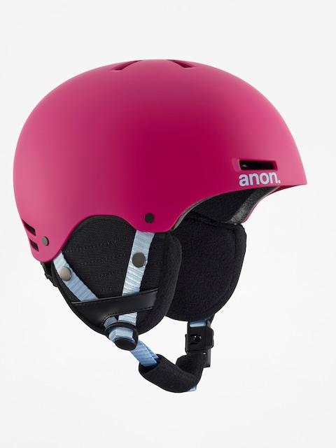 Anon Kinder Helm Rime (pink)