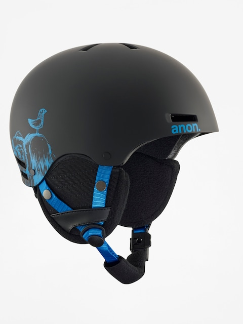 Anon Kinder Helm Rime (sulley black)