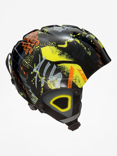 Quiksilver Helmet The Game B (black thunderbolt kids)