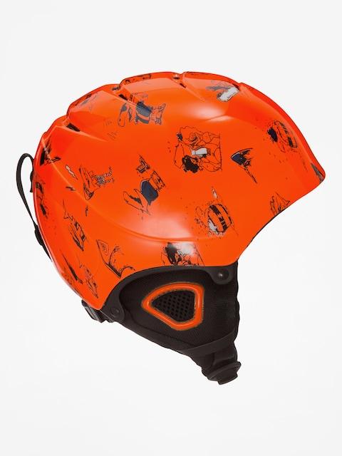 Quiksilver Helmet The Game B (shockin orange)