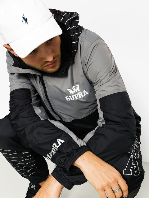 Supra Jacket Dash Track (black/grey)