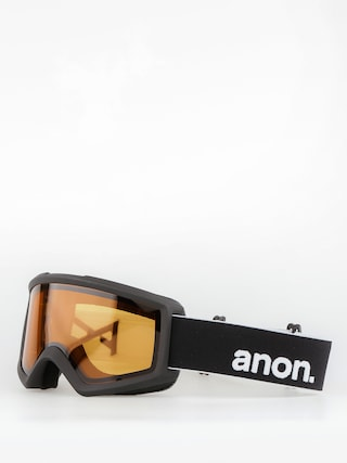 Anon Goggles Helix 2.0 Non Mir (black/amber)