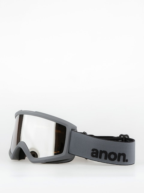 Anon Goggles Helix 2.0 W/Spare (stealth/silver amber)