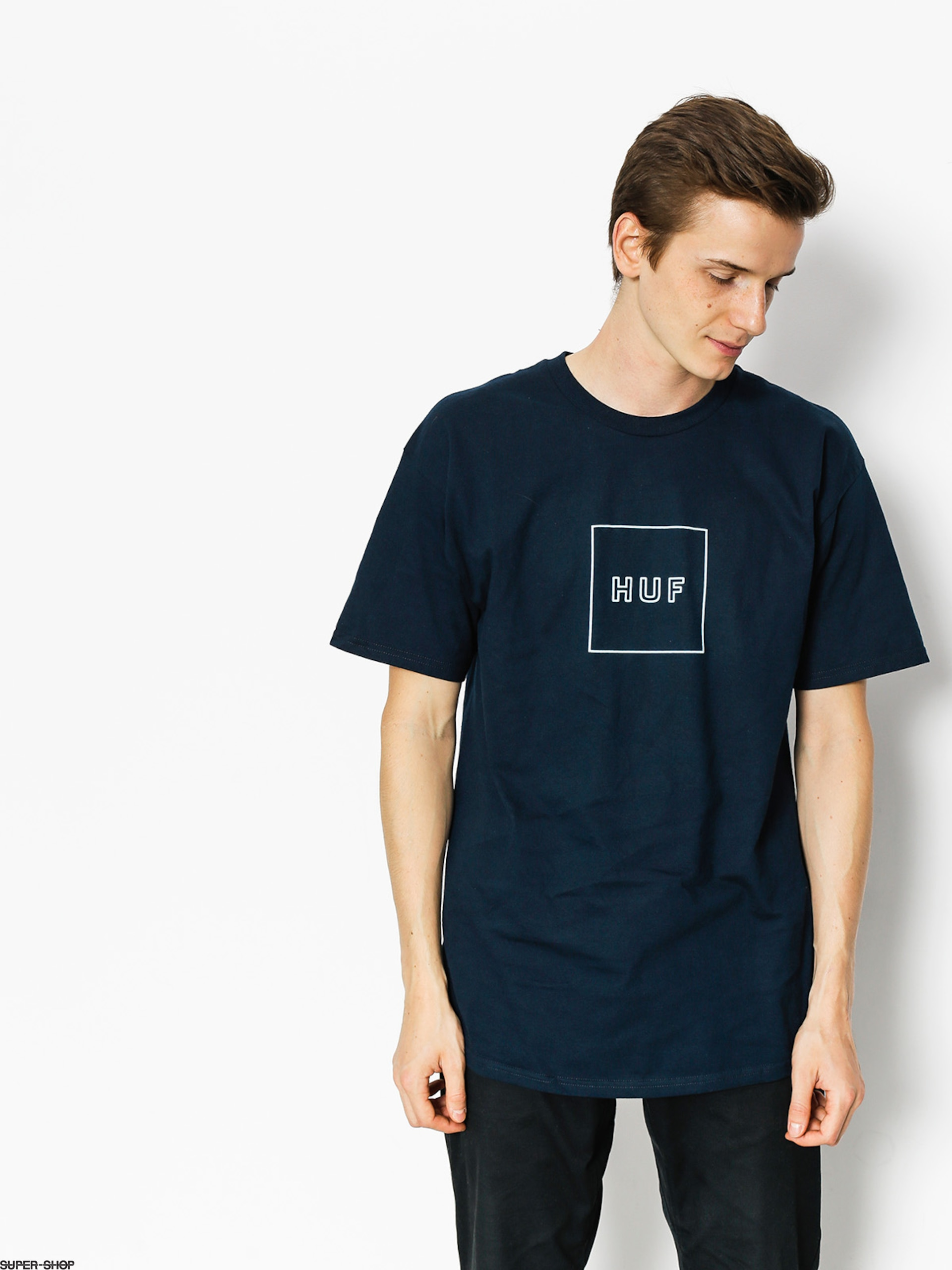 HUF T-Shirt Outline Box Logo