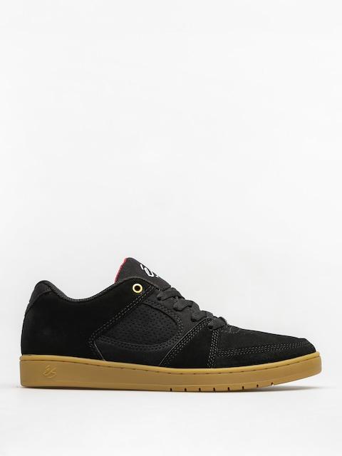Es Shoes Accel Slim (black/gum)