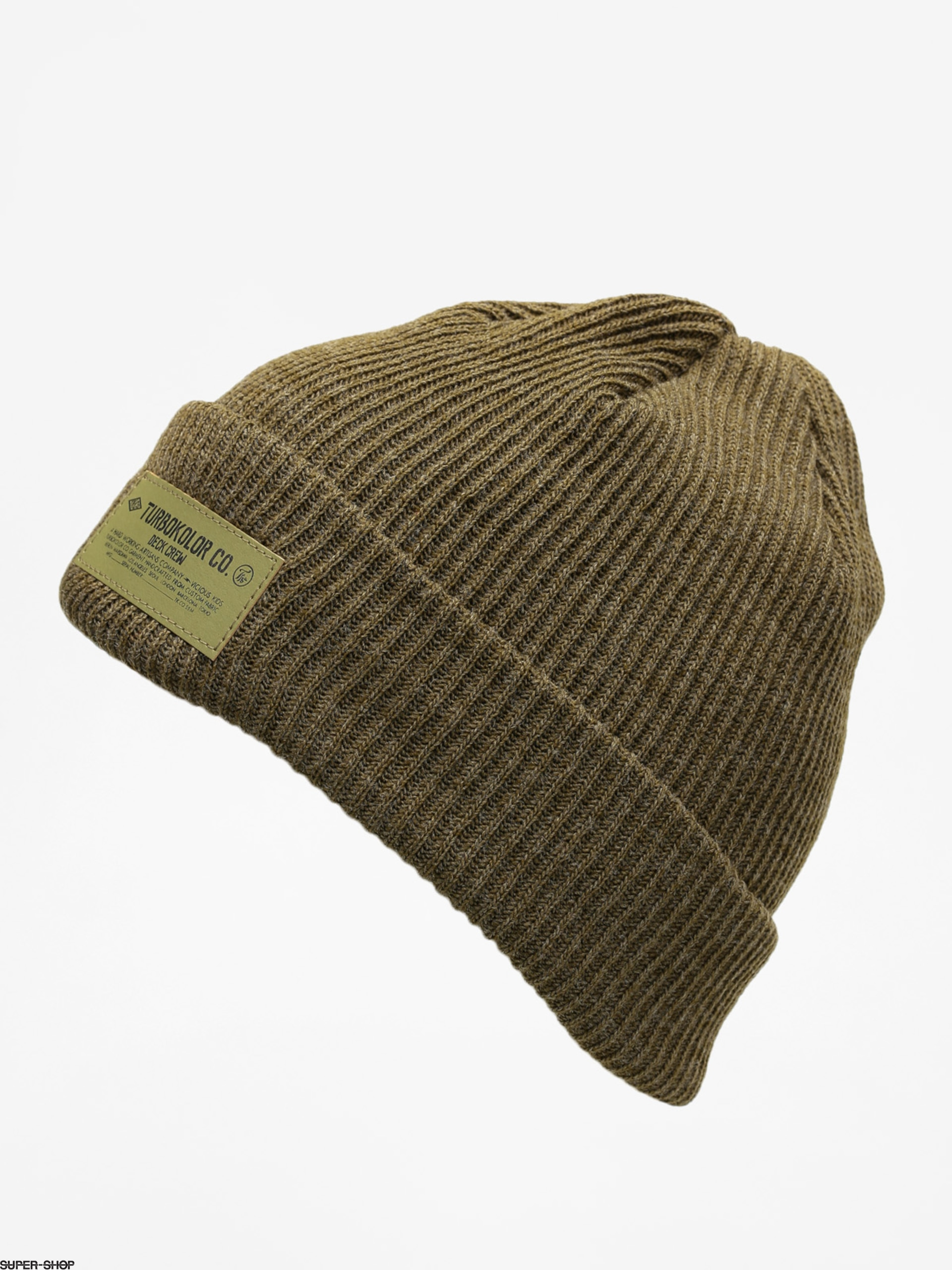 4c64815faed Turbokolor Beanie Fisherman (khaki)