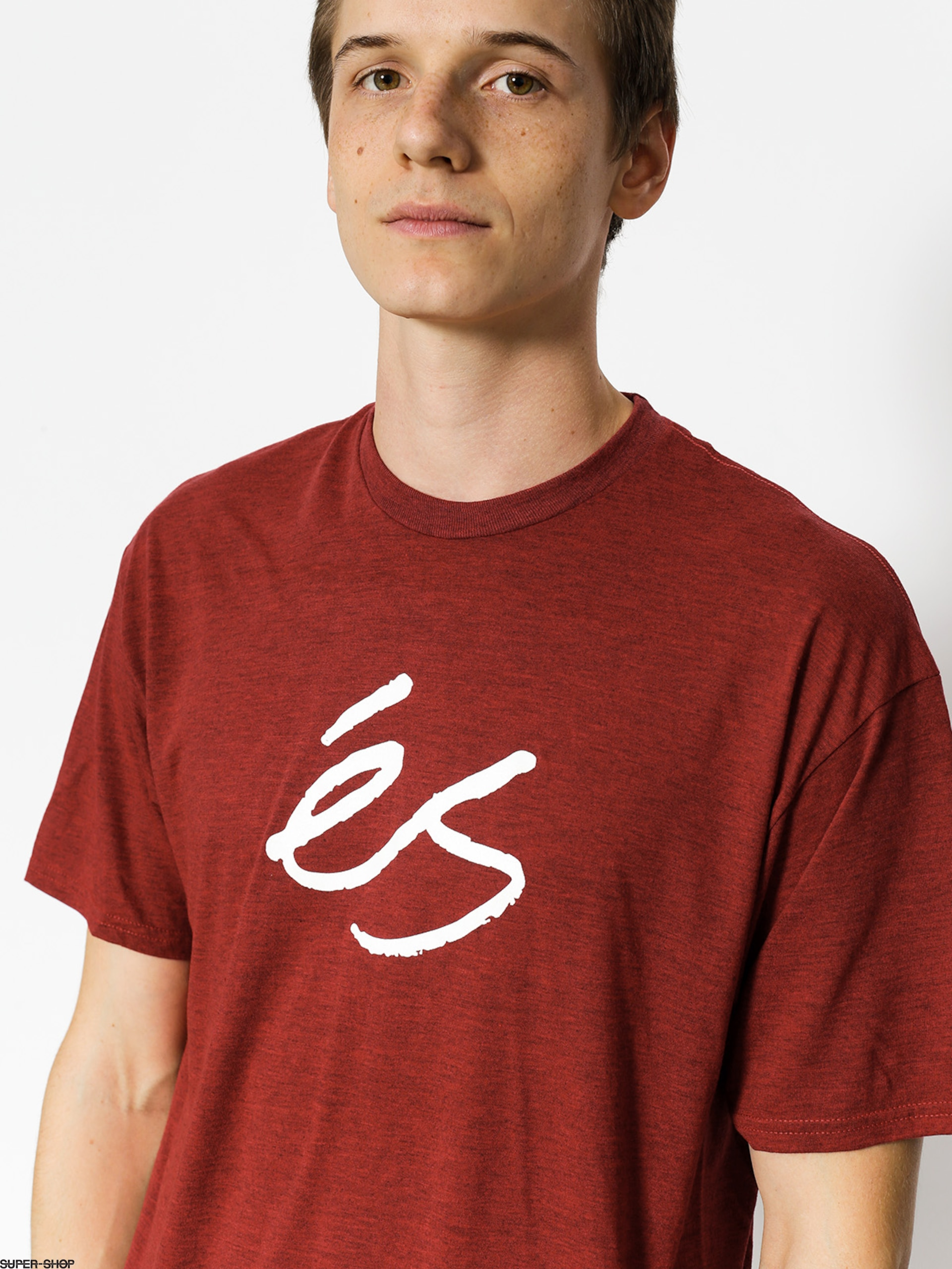 Es T-shirt Mid Script Tech (red)