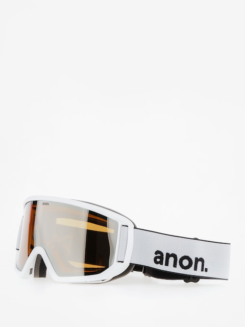 Anon Goggles Relapse (white/silver amber)