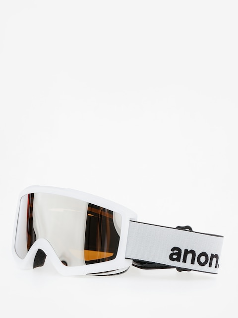 Anon Goggle Helix 2.0 W/Spare (white/silver amber)