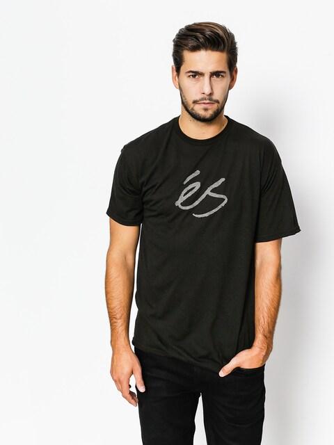 Es T-shirt Mid Script Tech (black)