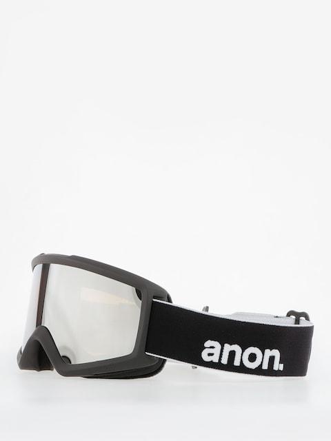 Anon Goggle Helix 2.0 W/Spare (black/silver amber)