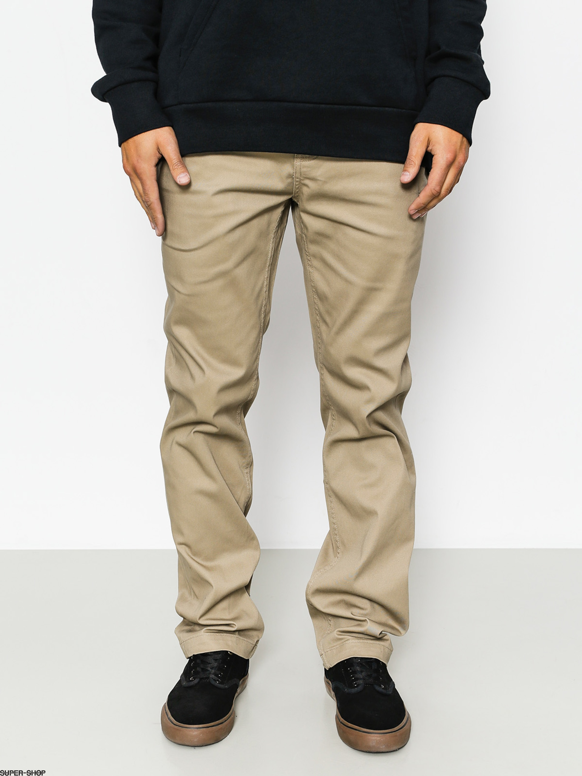 Etnies Pants Essential Straight Chino (khaki)