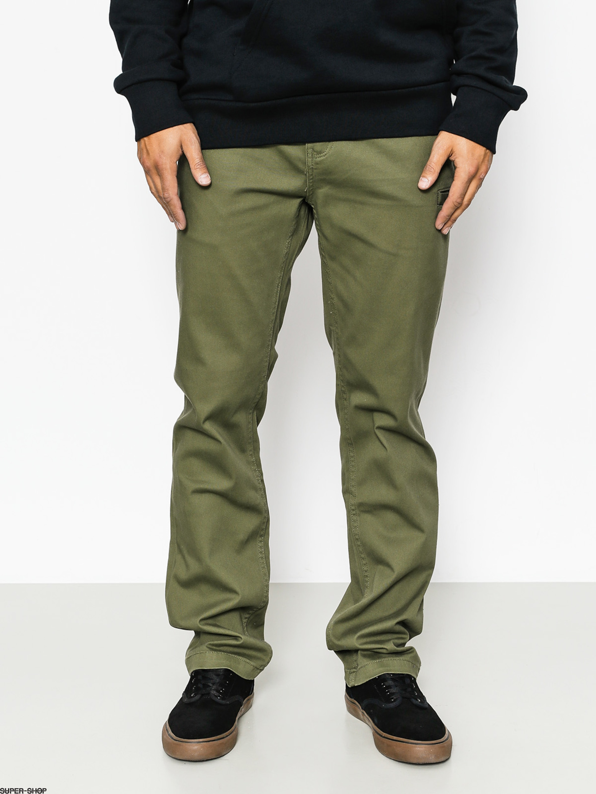 Etnies Pants Essential Straight Chino (olive)