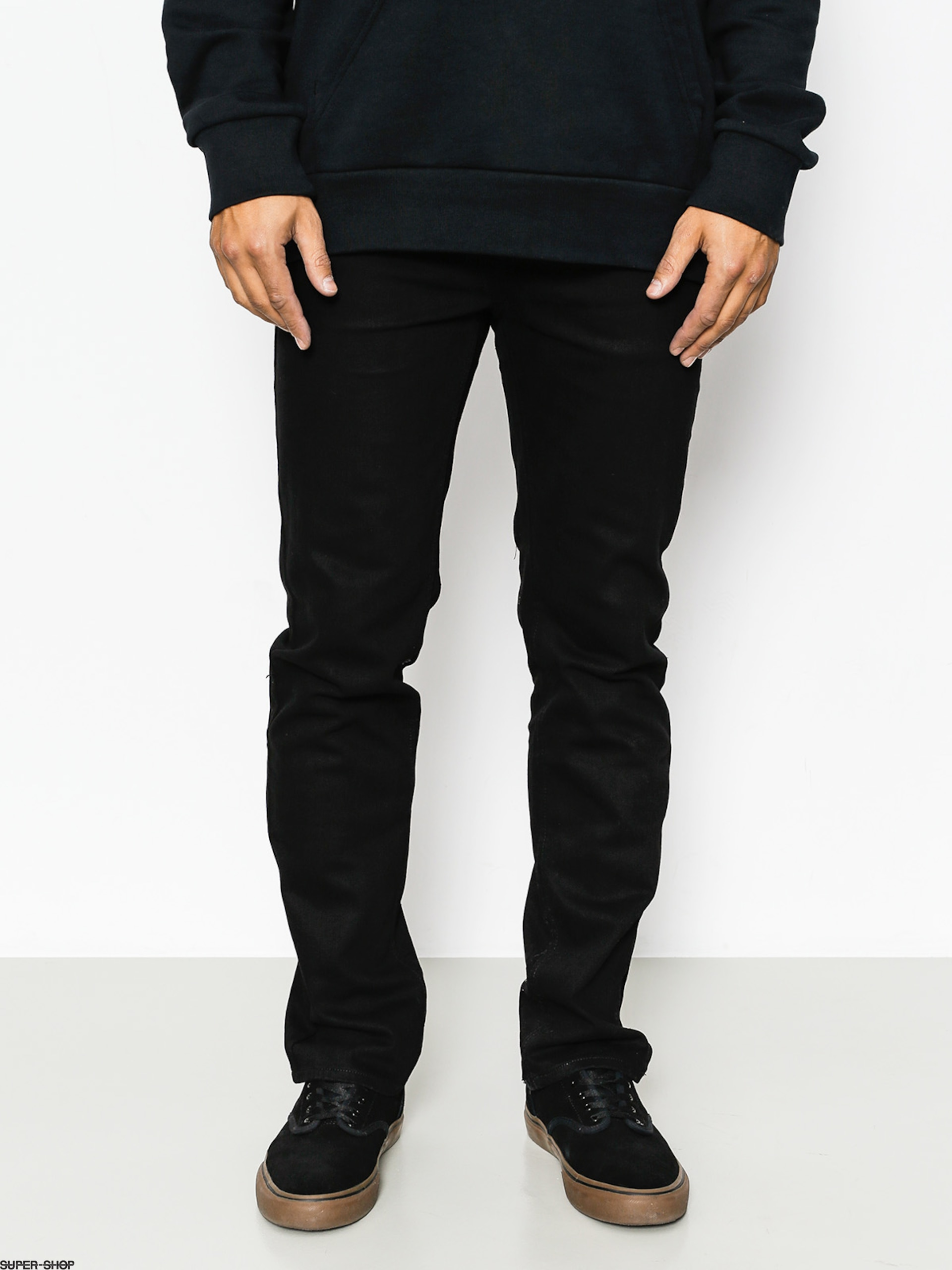 Etnies Pants Essential Slim Denim (black)