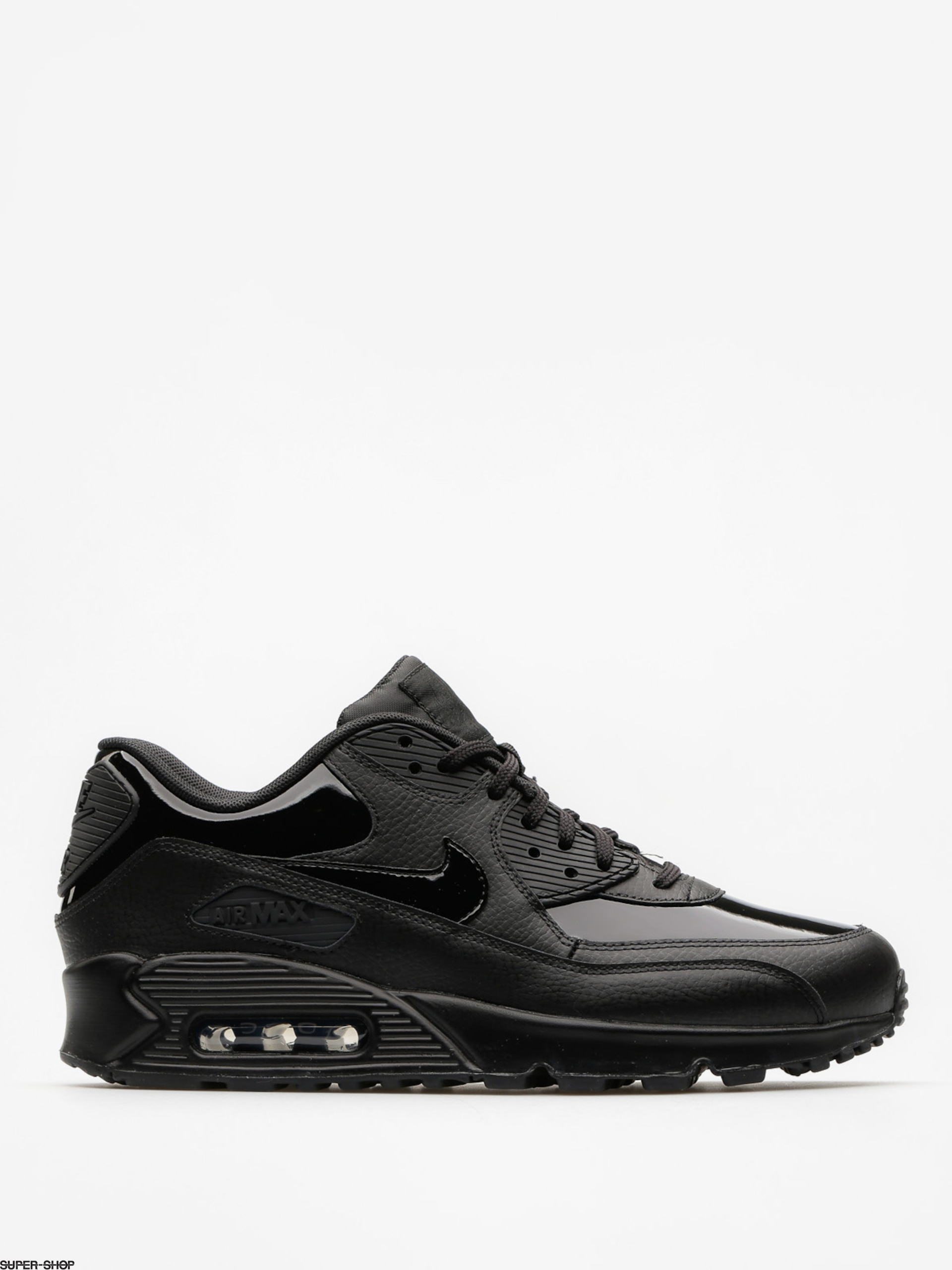 Nike Shoes Air Max 90 Leather Wmn (black/black black)