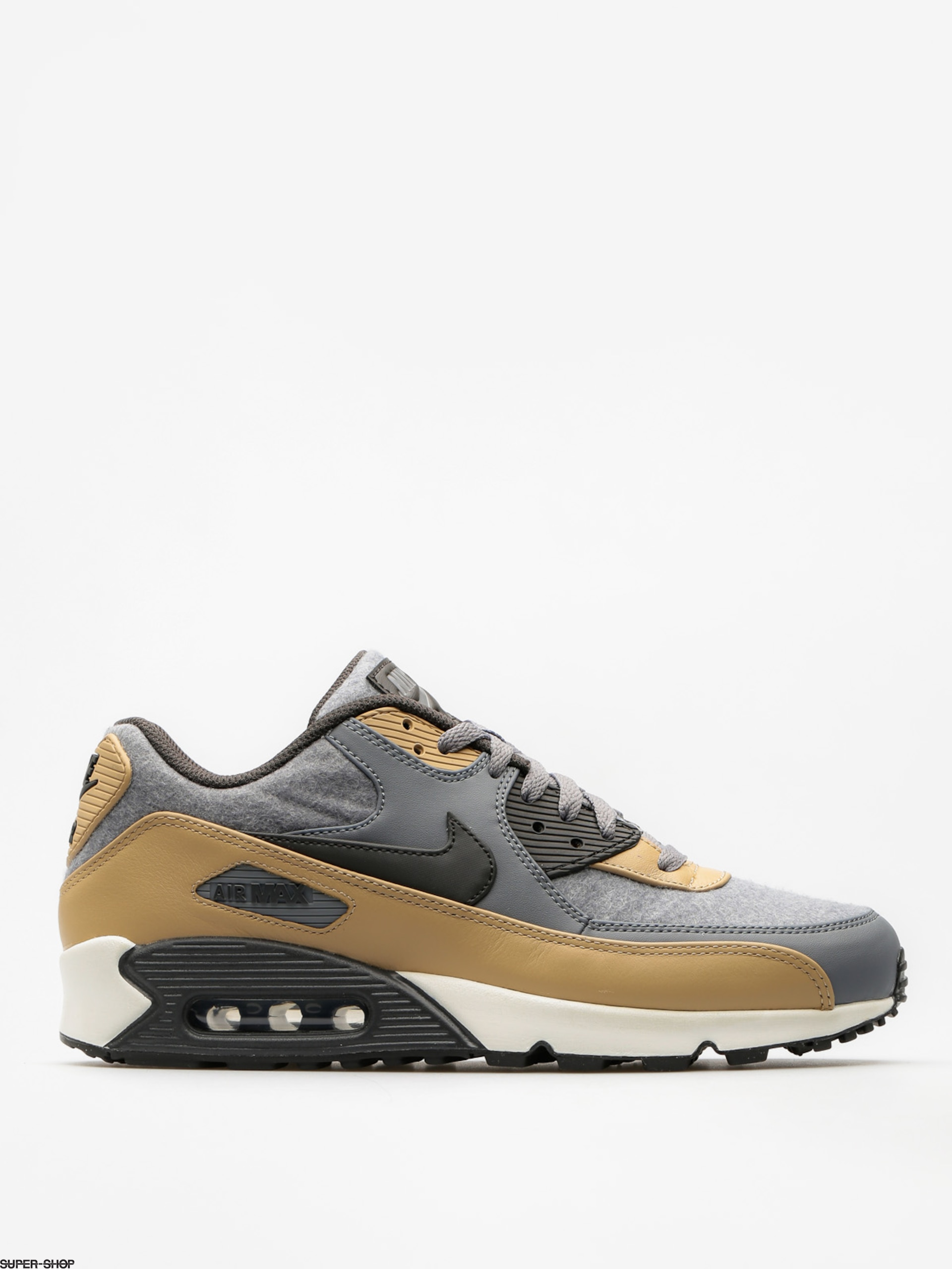 Nike Shoes Air Max 90 (Premium cool grey/deep pewter mushroom wolf grey)