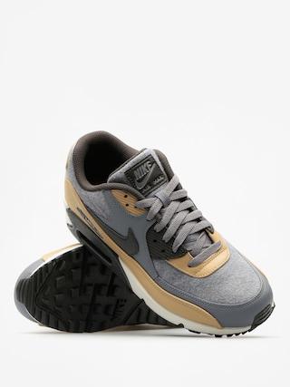Nike Schuhe Air Max 90 (Premium cool grey/deep pewter mushroom wolf grey)