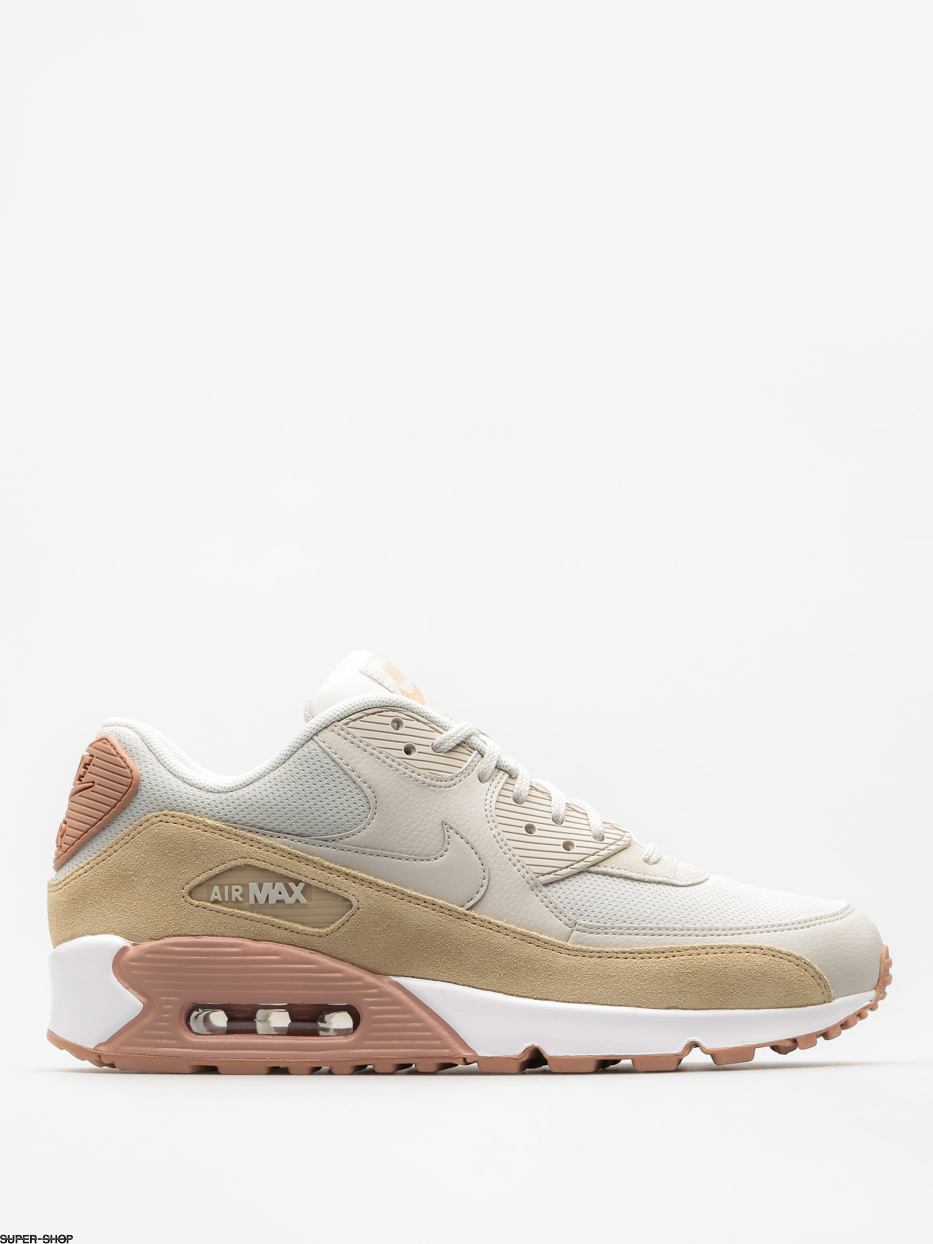 Nike Schuhe Air Max 90 Wmn (light bone/mushroom particle pink white)