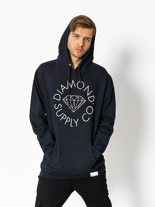 Diamond Supply Co. Hoodie Circle Logo HD (navy)