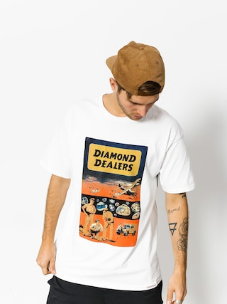 Diamond Supply Co. T-Shirt Dealers (white)