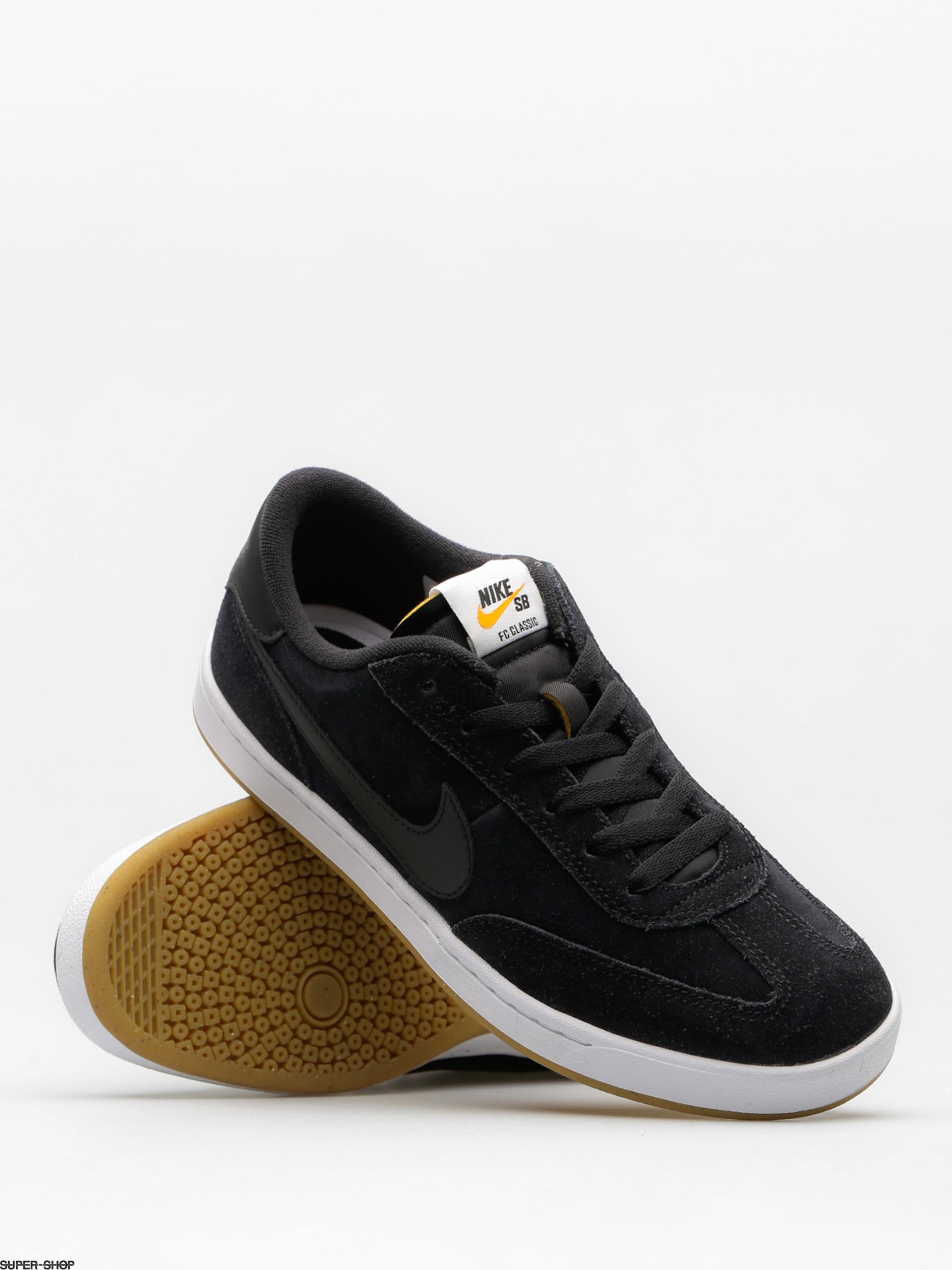 888131c44a9 Nike SB Shoes FC Classic (black black white vivid orange)