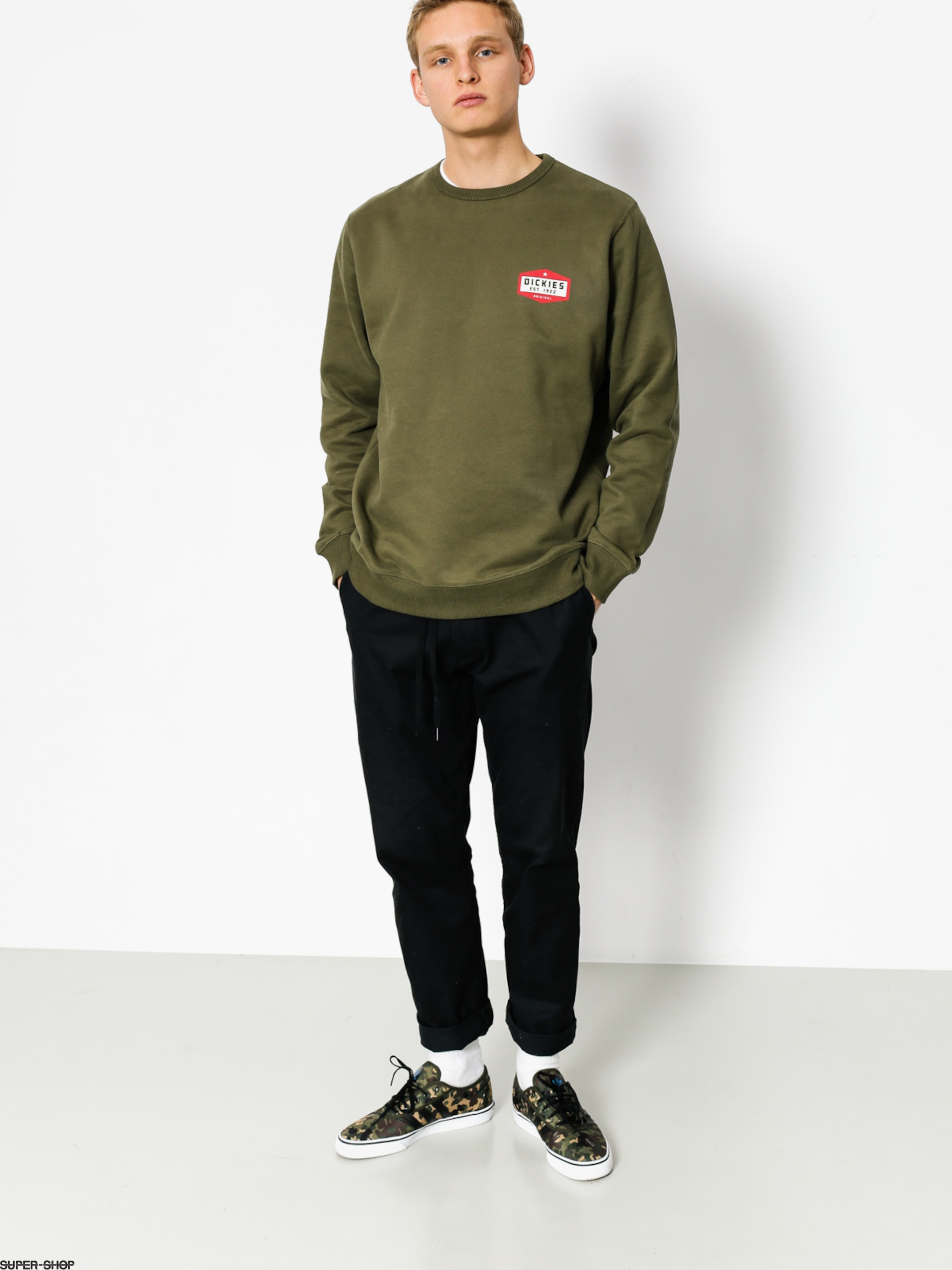 Dickies Sweatshirt Harborcreek (dark olive)