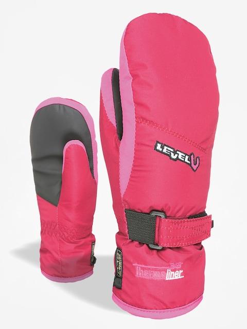 Level Gloves Junior Mitt (fucsia)