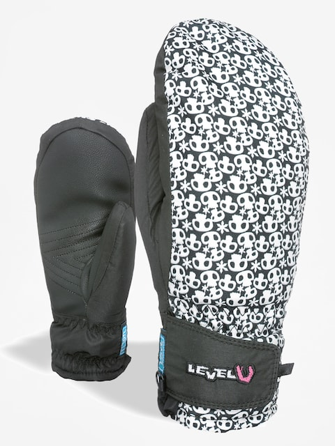 Level Gloves Juke Jr Mitt (black/white)