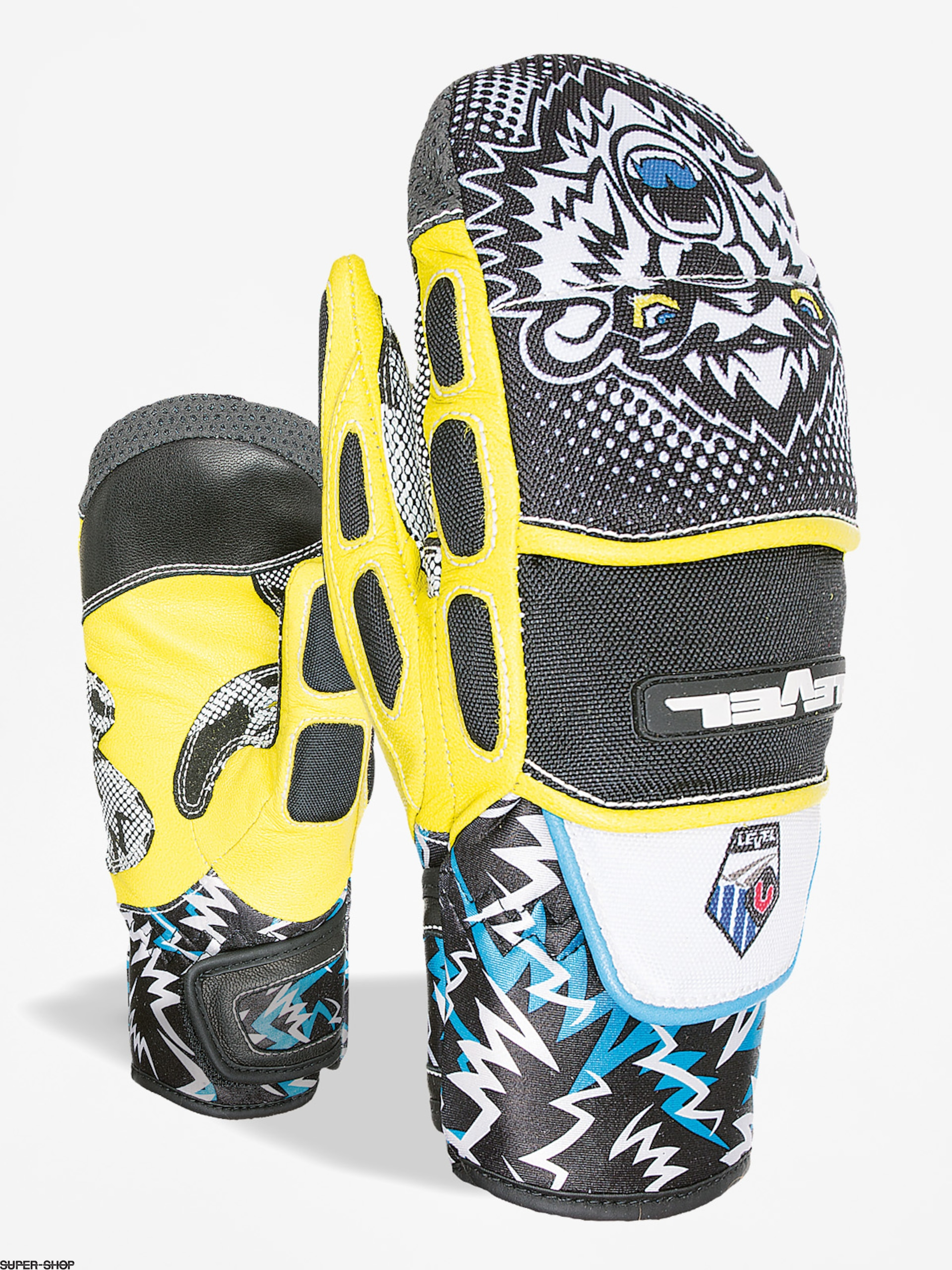 Level Gloves Worldcup Jr Cf Mitt (black yellow)