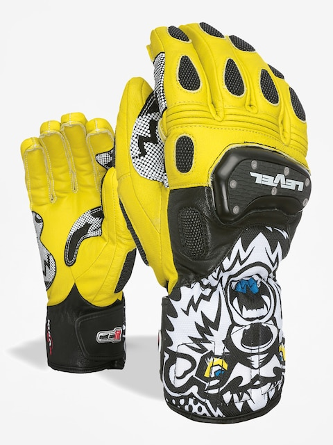 Level Handschuhe Sq Cf (black yellow)