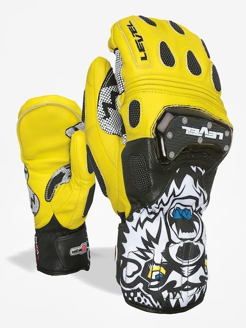 Level Gloves Sq Cf Mitt (black yellow)