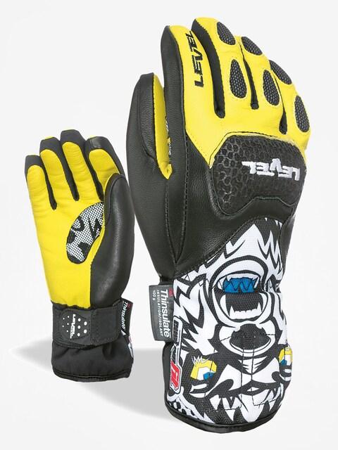 Level Gloves Sq Jr Cf (black yellow)