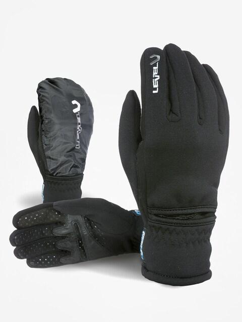Level Gloves Trail Polartec I touch (black)