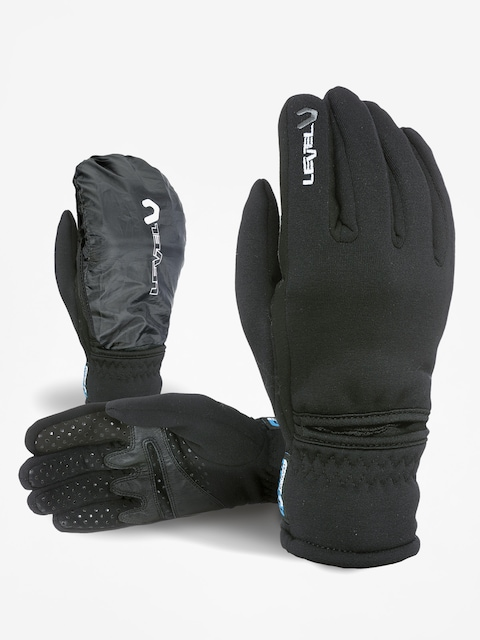 Level Handschuhe Trail Polartec I touch (black)