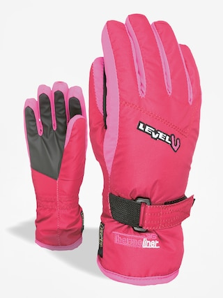 Level Gloves Junior (fucsia)