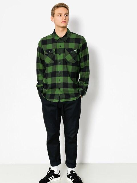 Dickies Shirt Sacramento LS (pine green)
