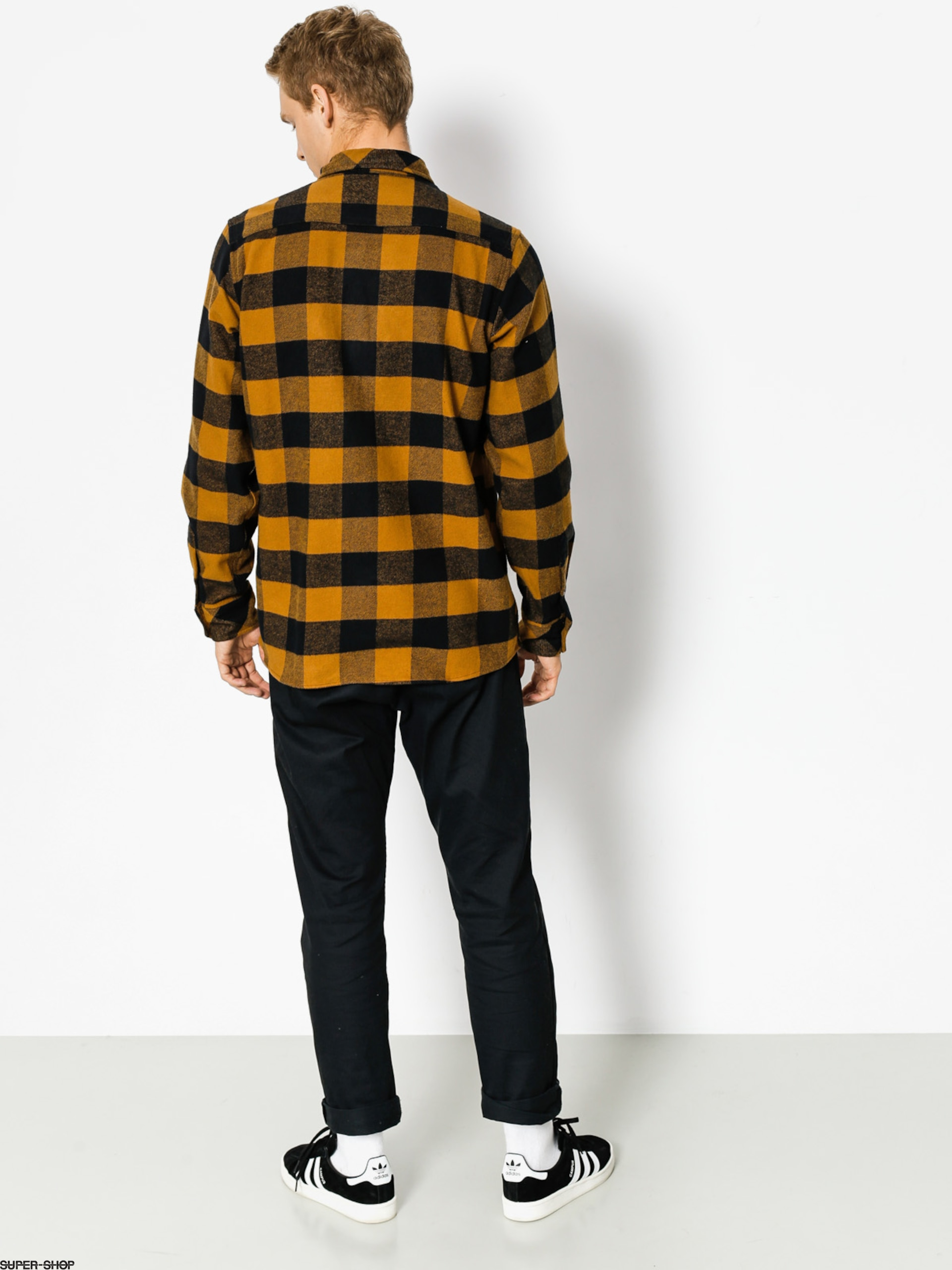 Dickies Hemd Sacramento LS (brown duck)