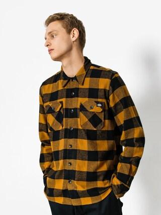 Dickies Shirt Sacramento LS (brown duck)